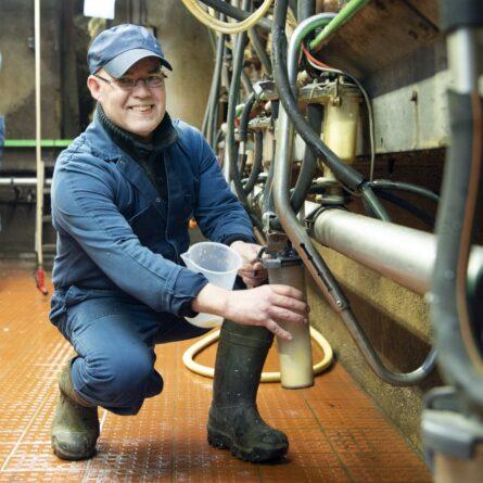 Uitvoering melkcontrole